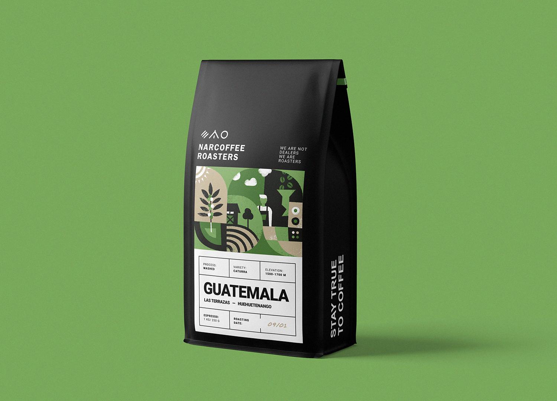 Narcoffee 咖啡袋1