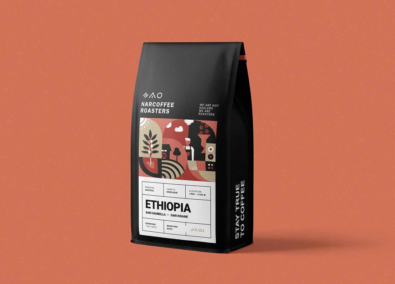 Narcoffee 咖啡袋2
